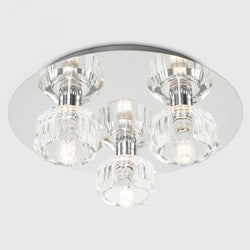 Mazim 3 Way IP44 Flush Ceiling Light