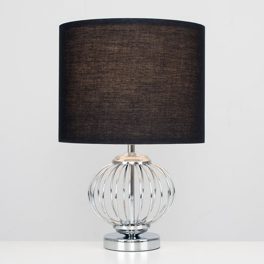 Faraday Touch Table Lamp with Black Shade