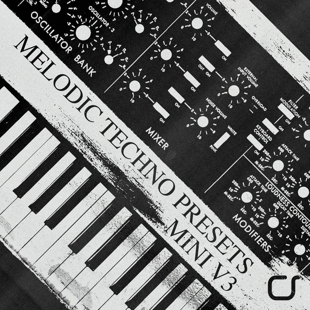 Melodic Techno Presets Mini V3