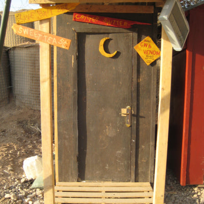 Episode 1: Outhouse Improvement Competition -Mosul, Iraq