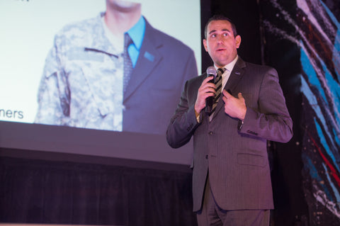 Speaking about transitioning Veterans