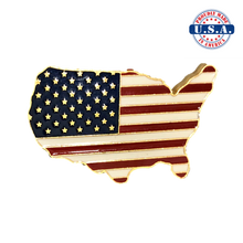 Load image into Gallery viewer, CONUS Flag Pin