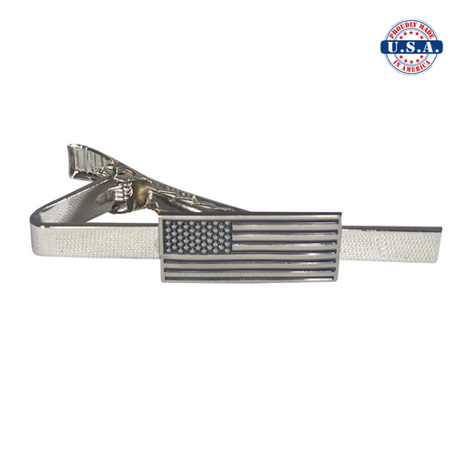 Subdued American Flag Tie-Clip