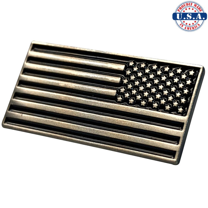 Reverse American Flag Lapel Pin (1, 3, or 5 Pins)