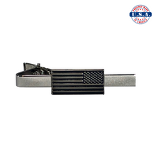 Load image into Gallery viewer, Reverse American Flag Tie-Clip