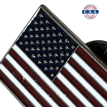 Load image into Gallery viewer, Full Color American Flag Lapel Pin - RWB