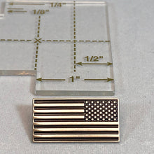 Load image into Gallery viewer, Reverse American Flag Lapel Pin