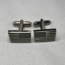 Load image into Gallery viewer, Subdued American Flag Cufflinks