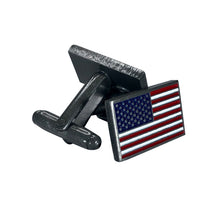 Load image into Gallery viewer, American Flag Cufflinks
