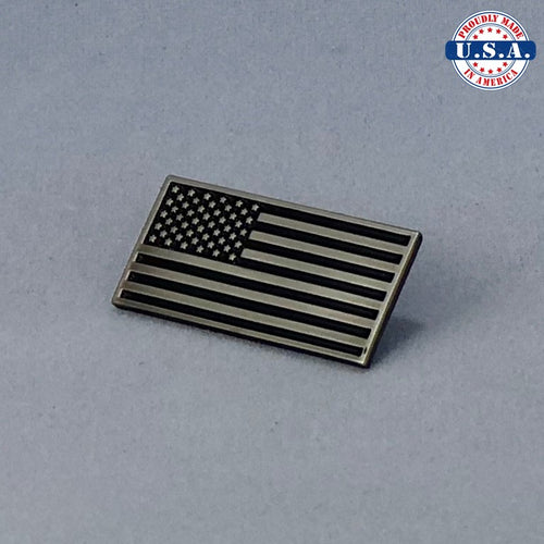 Subdued Tactical American Flag Lapel Pin