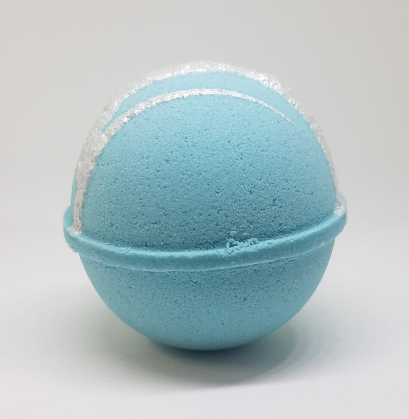 coconut lemongrass fizzy bath bomb
