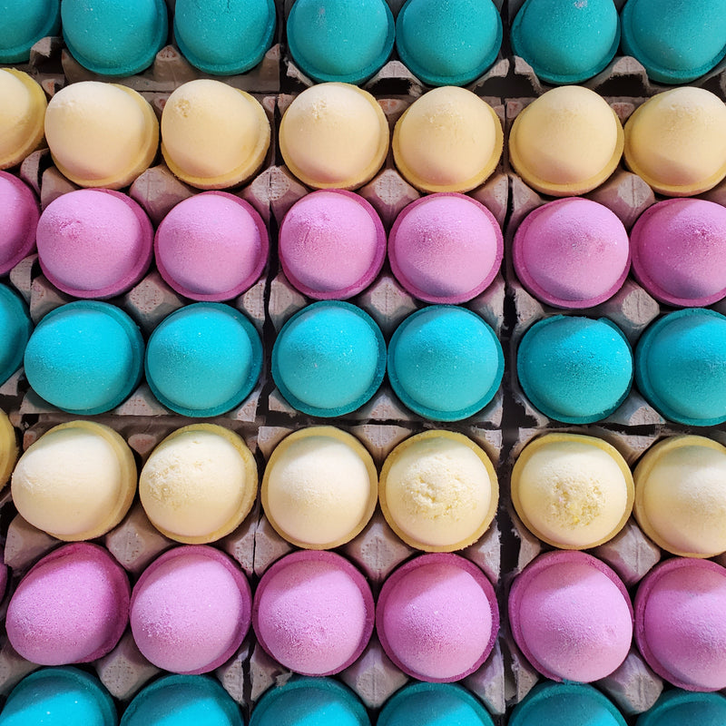 6pk Easter Egg Bath Bombs