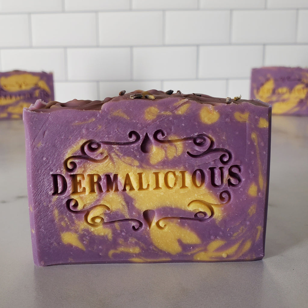 lemon lavender soap