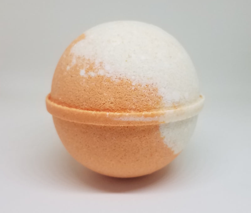 orange cream fizzy bath