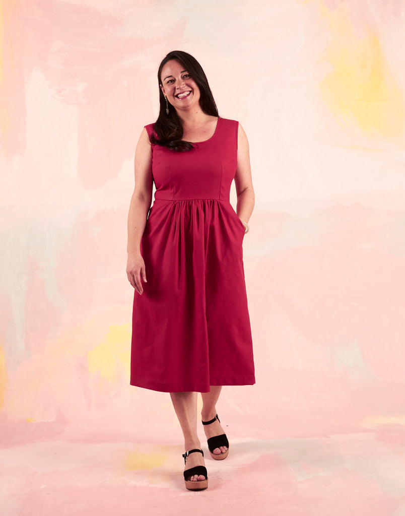 Nina Dress Fuschia