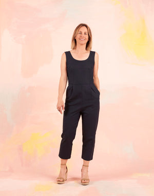 Nina Jumpsuit Navy ALL SIZES BACK IN STOCK!