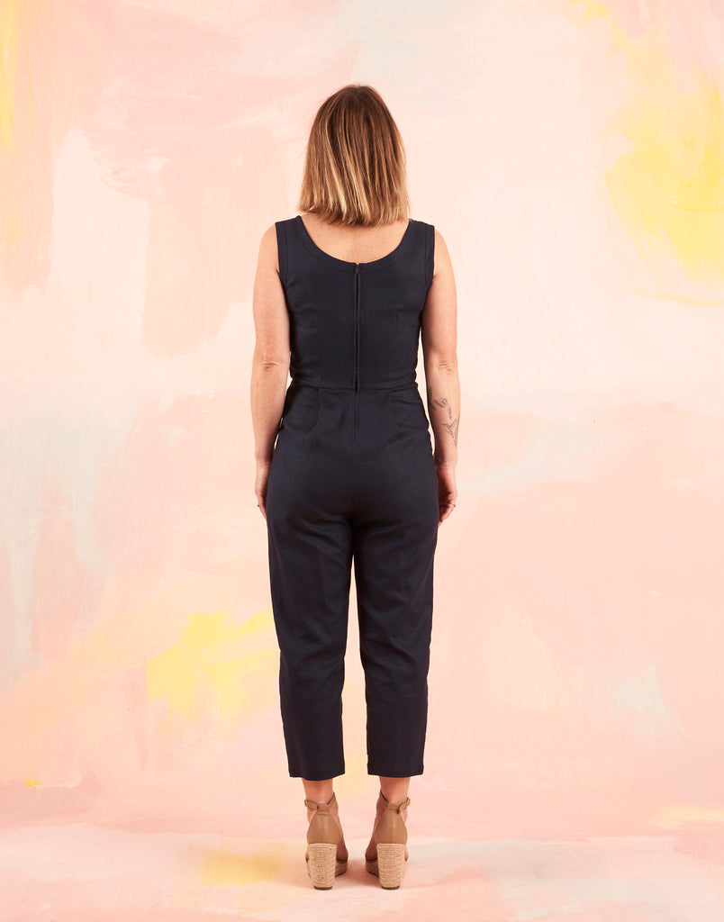 Nina Jumpsuit Navy