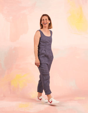 Nina Jumpsuit Chambray LOW STOCK!