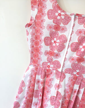 Coco Dress Vintage Hibiscus 8-10