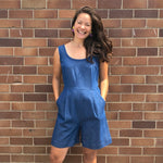 Tina Playsuit Denim