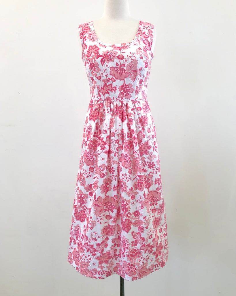 Nina Dress Vintage Paisley Blooms 8-10 & 16-18
