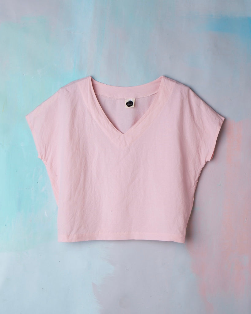 Kite Top Molly Pink Linen LOW STOCK