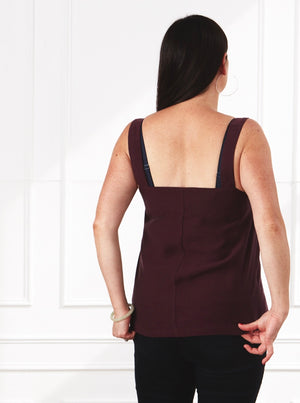 Cami Top Shiraz Tencel