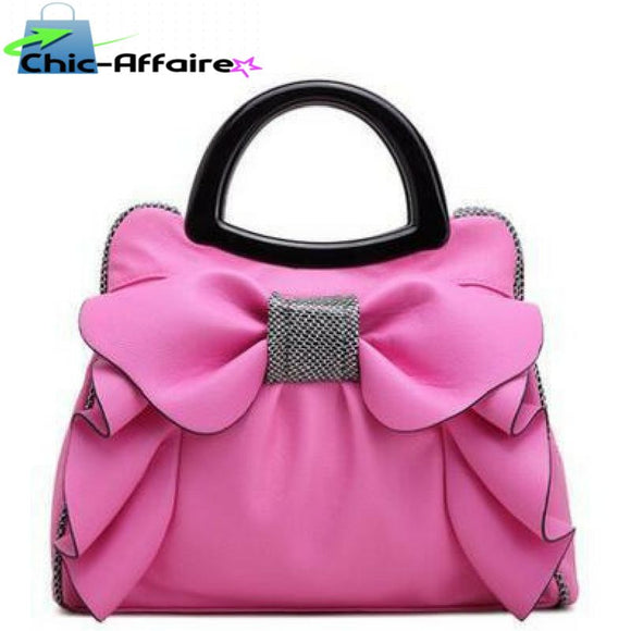 Sac à Main girly Rose