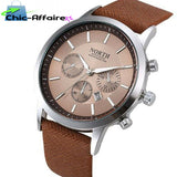 Montre D'Affaires Marron