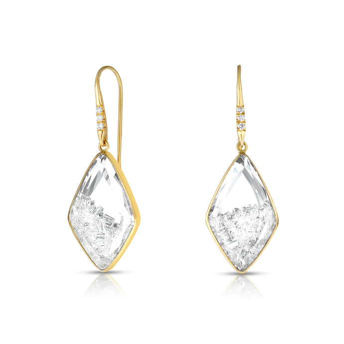 Baby Kite Diamond Shaker Earrings