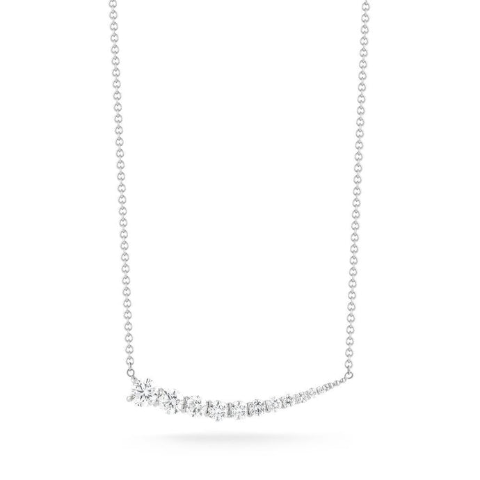 Lunado Pendant in White Gold