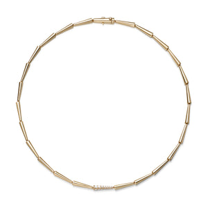 Lola Linked Necklace Gold