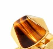 Tigers Eye Cubed Ring