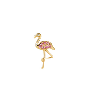 Flamingo Stud Earring