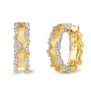 18K Gold Earrings with Diamonds by Victor Velyan