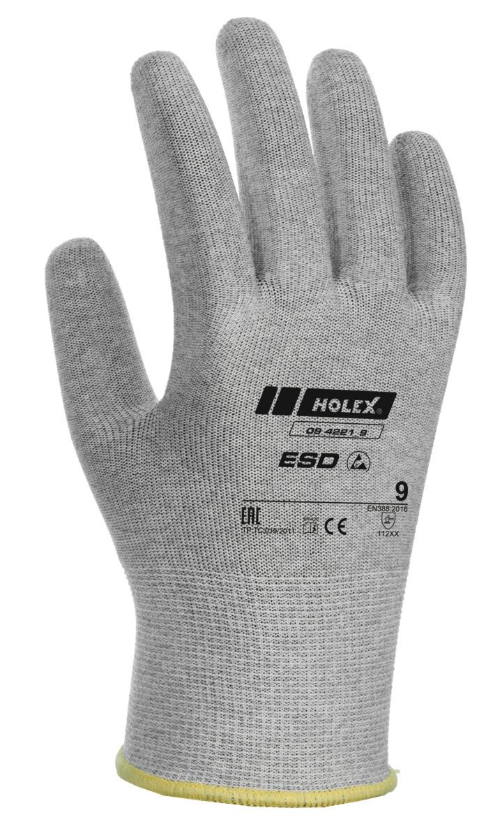 HOLEX ESD PAIR OF GLOVES uncoated - 094221 SIZES 6-11