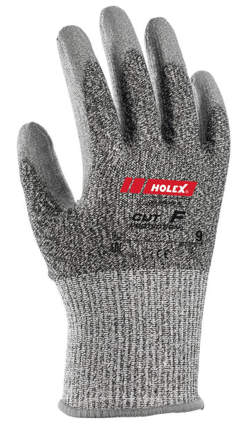 HOLEX CUT RESISTANT PAIR OF GLOVES CUT f - 094608 SIZES 7-11
