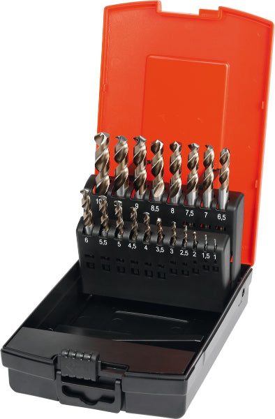 Stub drill set HSS No. 113005, type N in a case 1-10 - MQTooling