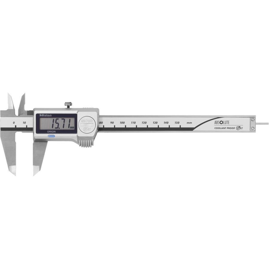 Mitutoyo (100-800-12) Digital caliper IP67 with rod type depth gauge 150 mm 412624 150