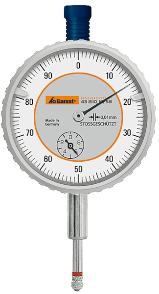 Dial indicator shock-resistant 10/58 mm - MQTooling