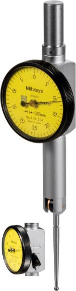 Mitutoyo Lever dial indicator contact point length 33.9 mm 0,25/33 mm