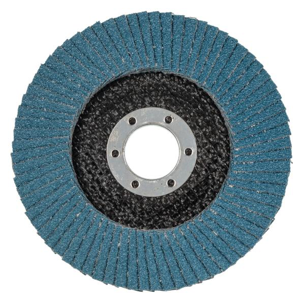 Abrasive flap disc long life ZA, conical 40,60,80 & 120 grit 565284