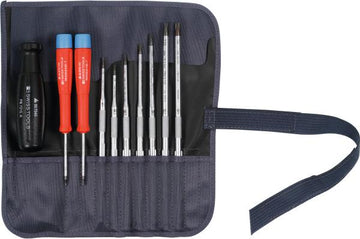 "Screwdriver set with ""multicraft"" power grip, for Torx® 10 - MQTooling"