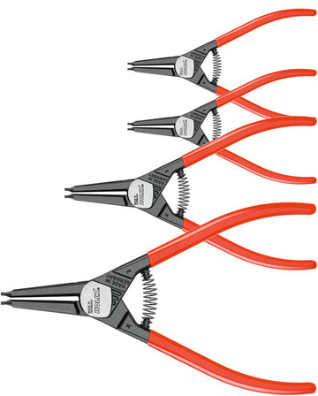 4-piece set of circlip pliers for external circlips 4 700145 4
