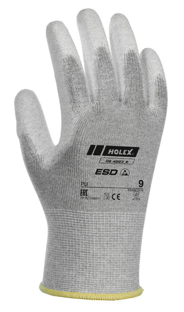 HOLEX ESD PAIR OF GLOVES - 094223 SIZES 6-11
