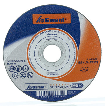 Garant | Cutting disc EXTRA THIN, steel 115 mm - MQTooling