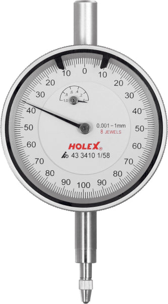 Holex | Precision dial indicator shock-resistant 1/58 mm - MQTooling