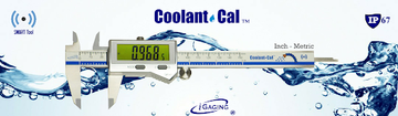 iGaging Digital Caliper IP67 Coolant/Water/Dust Proof 0-6