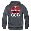 I Specialize in Praising God | Drawstring Athletic Hoodie - Christian Women Tees