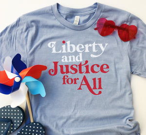 Liberty & Justice - Adult Tee